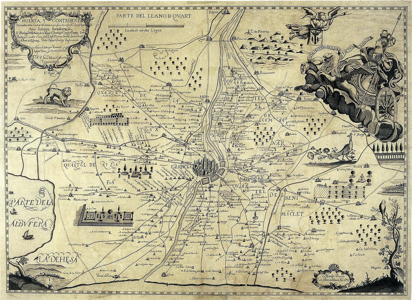 mapa 1695 Cassaus