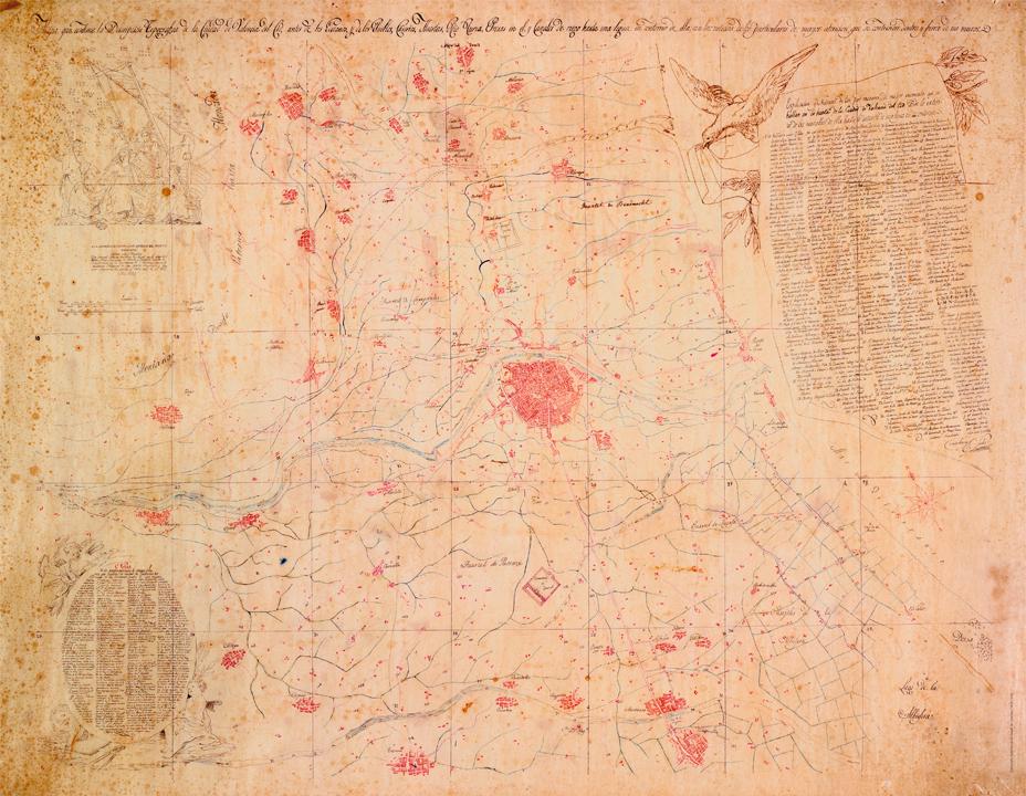 mapa 1821