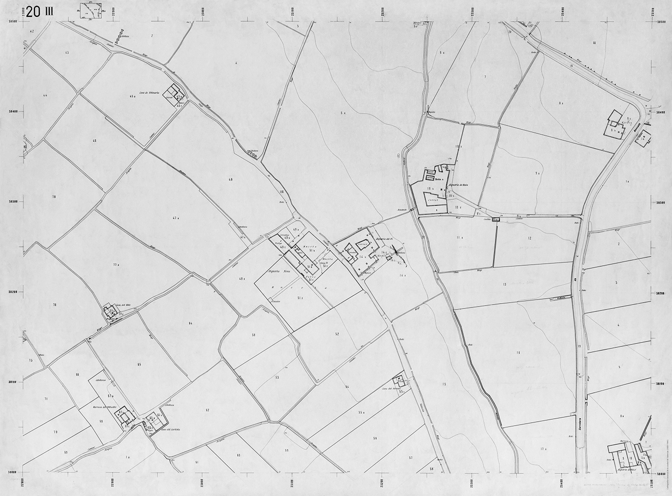 planimetría rústica 1944