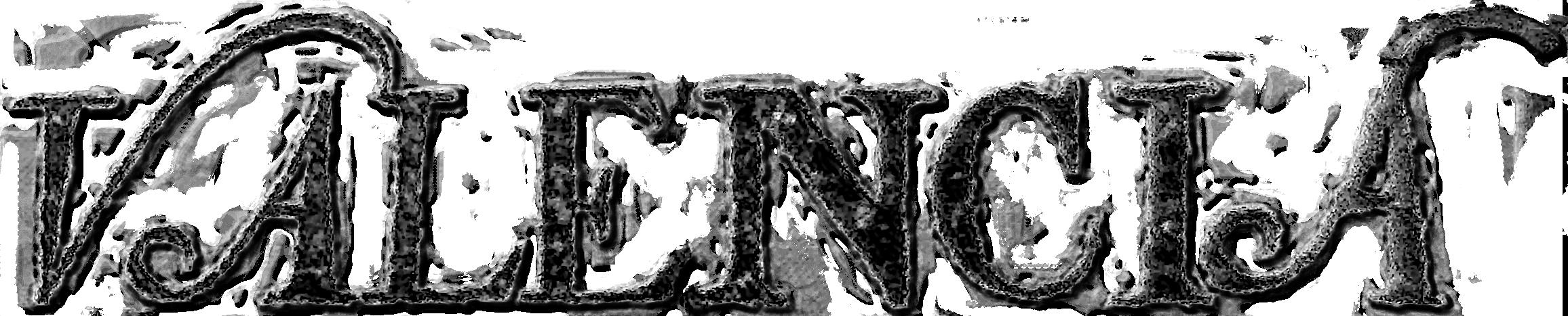 caligrafía de valencia